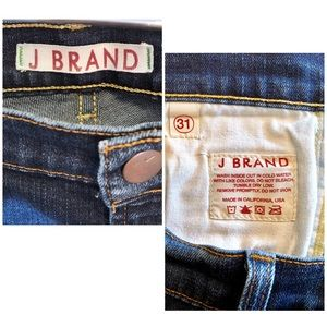 J Brand Jeans - J Brand Low Rise Medium Wash Skinny Jeans